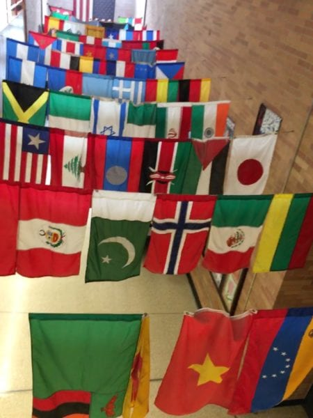 Students from many countries attend South High in Worcester, Massachusetts