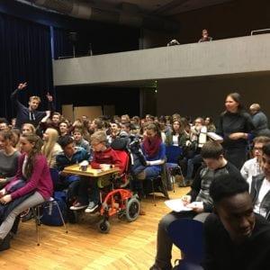 high school audience