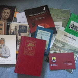 A few of the books consulted in research for SALT